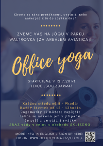 Copy of Office yoga poster